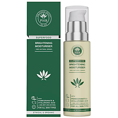 PHB Ethical Beauty Superfood Crème Hydratante Eclaircissante