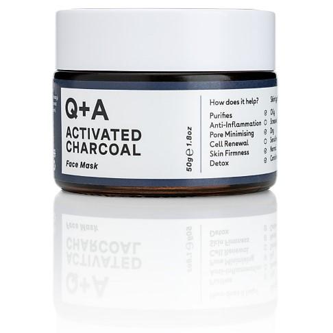 Q+A Masque Visage au Charbon Actif