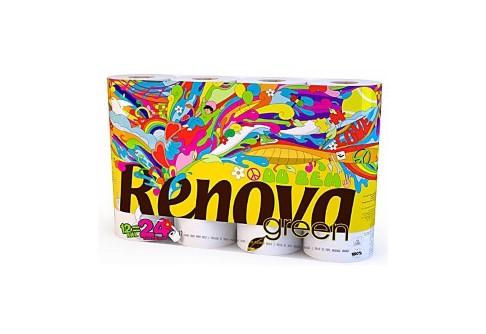 Renova Green Papier Toilette - 12 rouleaux