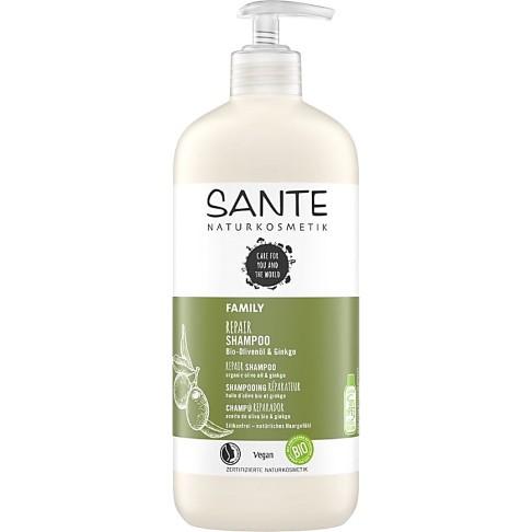 Sante Family - Shampooing Vitalisant Bio - Ginkgo & Olive 500ml