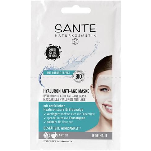 Sante Masque Anti-Âge à l'Acide Hyaluronique