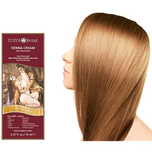 Surya Brasil Crème Colorante Henné Blond Clair