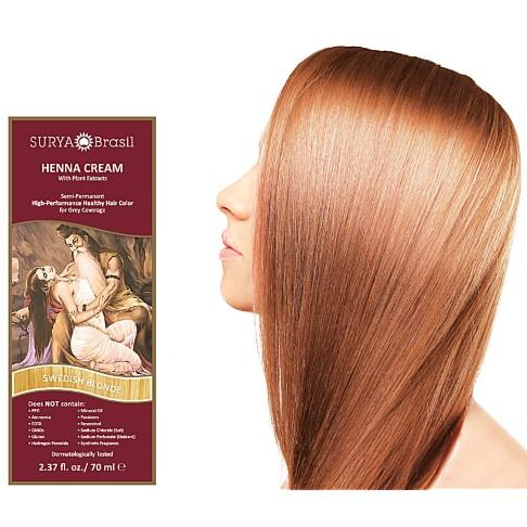 Surya Brasil Crème Colorante Henné Blond Scandinave