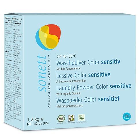 Sonett Lessive en Poudre Sensitive - Couleurs (30 lavages)
