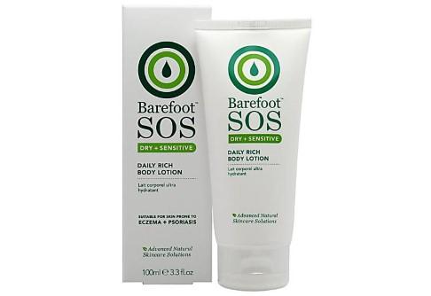 Barefoot SOS Dry + Sensitive Lait Corporel Ultra Hydratant