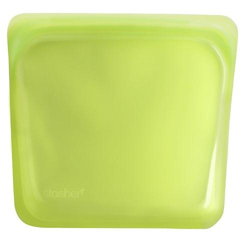 Stasher Sac Lime 18 x 19 cm