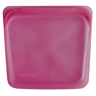 Stasher Sac Raspberry 18 x 19 cm