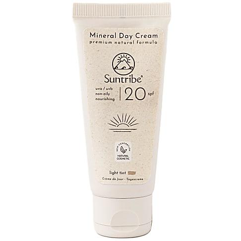 Suntribe Crème de Jour Bio et Végétalienne - SPF 20
