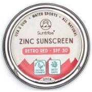 Suntribe Crème Solaire Minérale Visage & Sport SPF30 (Red)