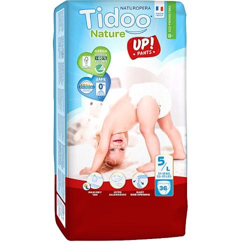 Tidoo - Jumbo 36 Culottes d'apprentissage JUNIOR (T5) – 12/18kg