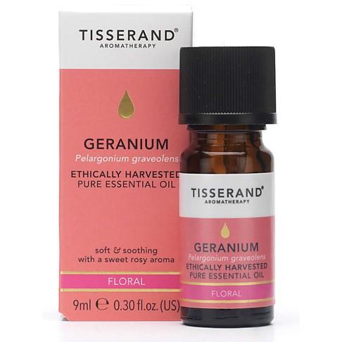 Tisserand Huile Essentielle de Géranium Bio 9 ml