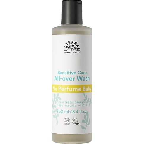 Urtekram - Shampoing Bébé corps et cheveux - Sans parfum - 250 ml
