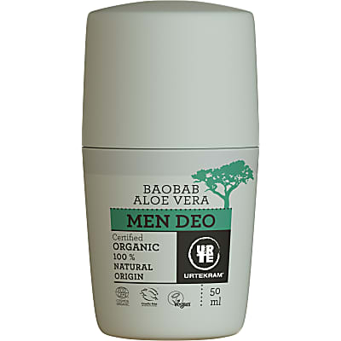 Urtekram Déodorant Homme - Baobab Aloe Vera