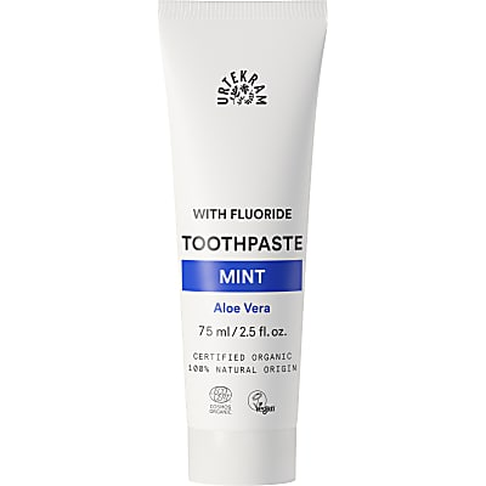 Urtekram - Dentifrice Menthe et Fluoride - 75 ml