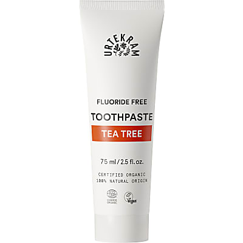 Urtekram - Dentifrice Sans Fluor - Arbre à Thé - 75 ml