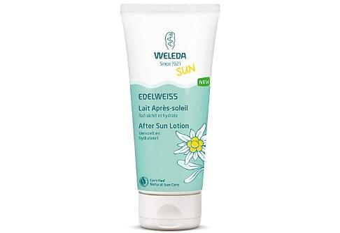 Weleda Lait Après-Soleil à l'Edelweiss