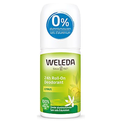 Weleda 24h Déodorant Roll-On Citrus