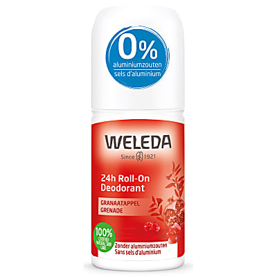 Weleda 24h Déodorant Roll-On Grenade