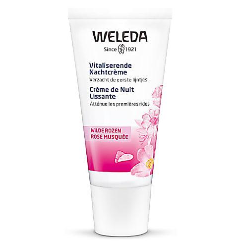 Weleda - Crème de Nuit Lissante Rose Musquée