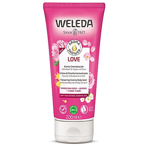 Weleda - Crème de Douche Harmonisante à la Rose Musquée