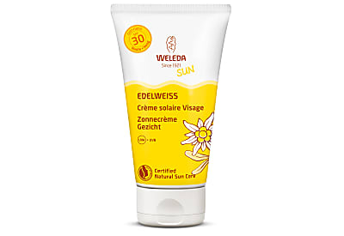 Weleda Crème Solaire Visage à l'Edelweiss SPF30