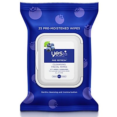 Yes To Blueberries - Lingettes Visage