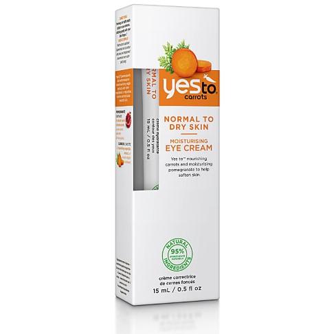 Yes To Carrots - Crème Hydratante Contour des Yeux