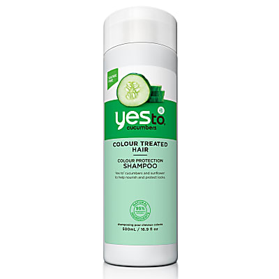Yes To Cucumbers - Shampooing Cheveux Colorés