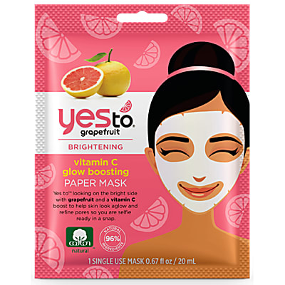 Yes to Grapefruit Pore Perfection Masque en Papier - Usage Unique