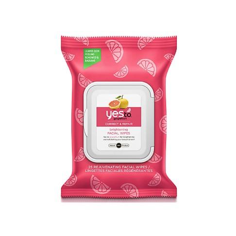 Yes to Grapefruit Lingettes Visage Éclaircissantes