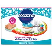 Ecozone - Tablettes lave-vaisselle Brillance - 65 tablettes
