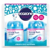 Ecozone Désodorisant wc Bleu - Duo Pack