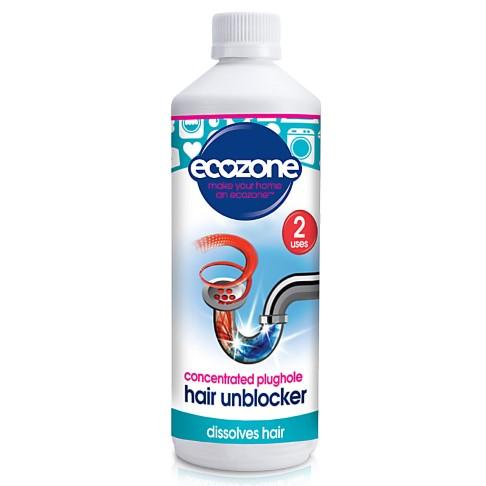 Ecozone - Déboucheur liquide pour canalisation spécial cheveux