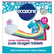 Ecozone Pure Oxygen Tablettes Blanchissantes pour Linge Coloré