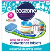 Ecozone Tablettes Lave-Vaisselle Ultra Tout-En-Un (25)