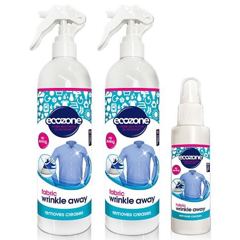 Ecozone Fabric Wrinkle Away Bundle - Sans Parfum